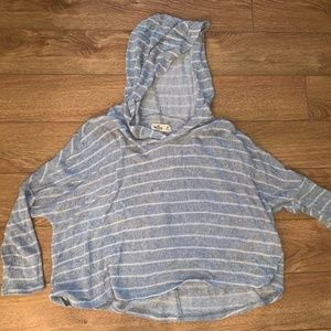 Hollister Hooded Striped Top